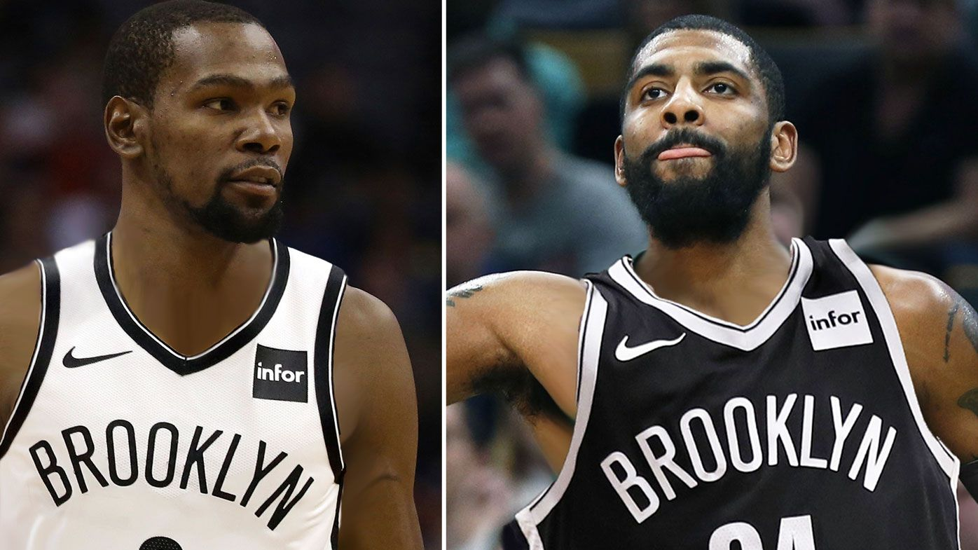 KD and Kyrie Irving have joined the Brooklyn Nets