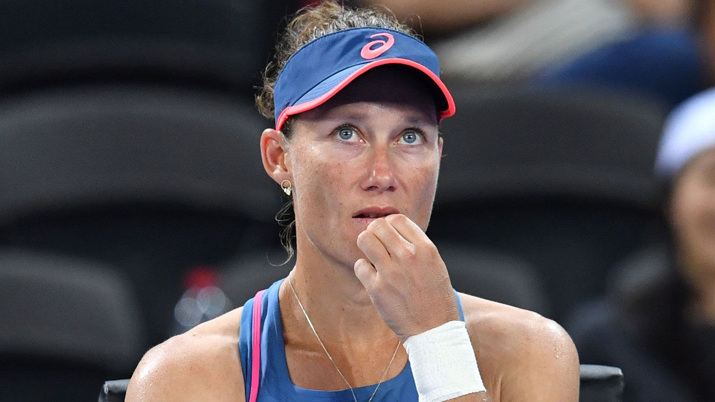 Sam Stosur out first round in Brisbane for terrible start to Australian summer