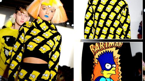 Bart Simpson inspires high fashion