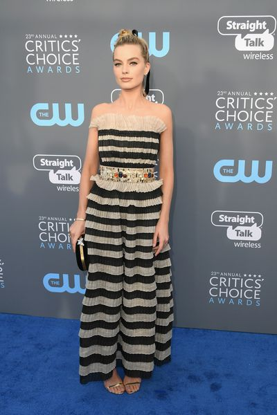 Margot Robbie at the 23rd Annual Critics' Choice Awards in California on January 11, 2018