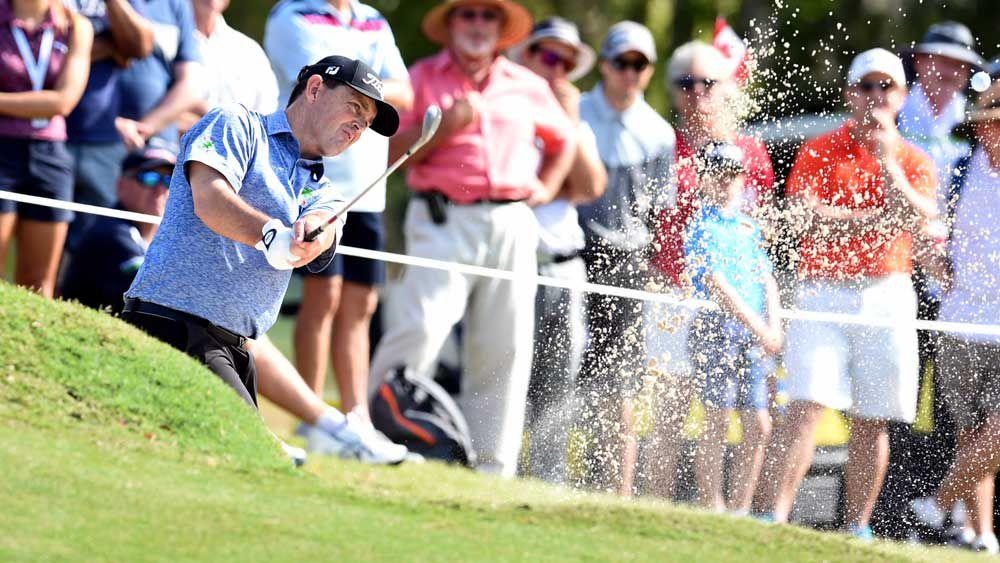 Storm helps Dodt to keep Aust PGA leader