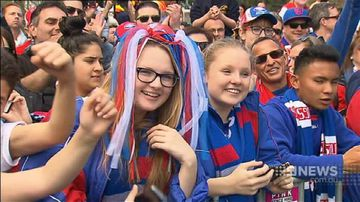 VIDEO: Record crowd turns out for AFL grand final parade