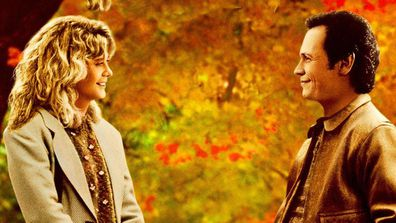 Meg Ryan and Billy Crystal in 'When Harry Met Sally'.