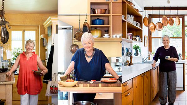 Margaret Fulton, Stephanie Alexander and Maggie Beer