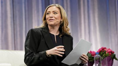 Whitney Wolfe Herd, Founder and CEO of Bumble speaks on stage during keynote conversation in 2019.