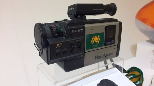 A Sony Handycam.