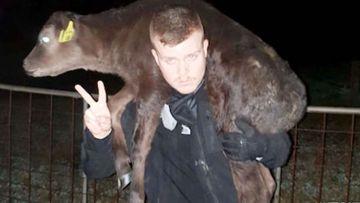 Perth vegan activist James Warden.