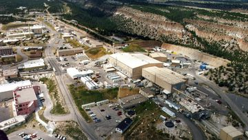 The federal agency that oversees US nuclear research and bomb-making has signed off on the first planning and design phase for a multibillion-dollar project to manufacture key components for the nation's nuclear arsenal. (The Albuquerque Journal via AP, File)