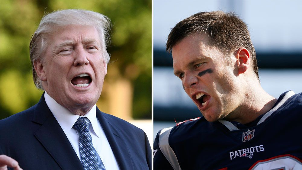 Donald Trump and Tom Brady.