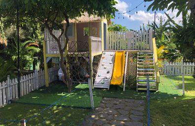 Bali resort playground