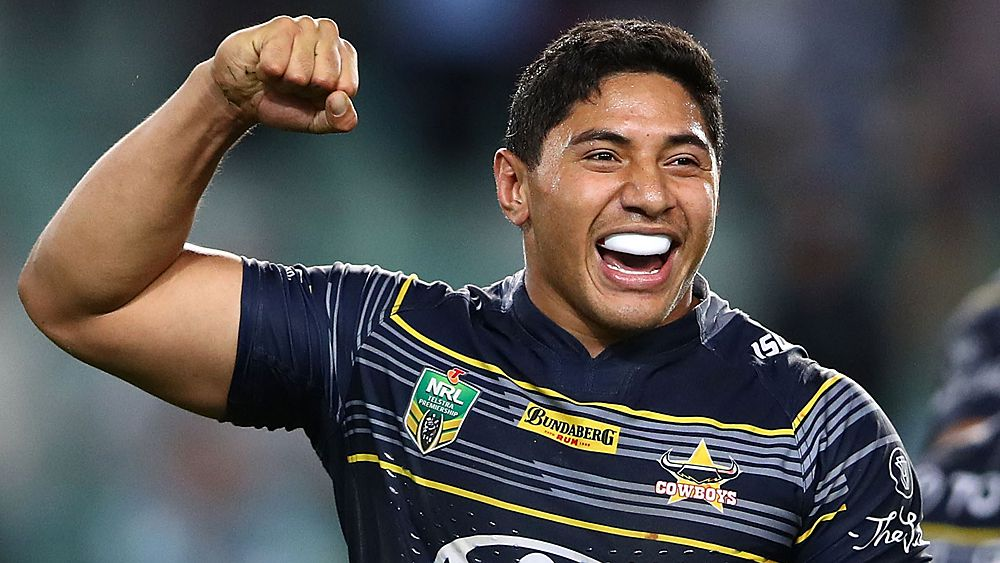 North Queensland Cowboys forward Jason Taumalolo hits back at JWH challenge