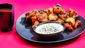 Family Food Fight: The Giles' Buffalo Cauliflower with Blue Cheese recipe