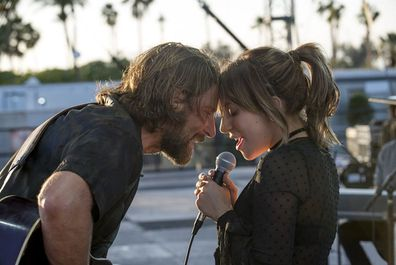 Bradley Cooper and Lady Gaga in 'A Star Is Born'.