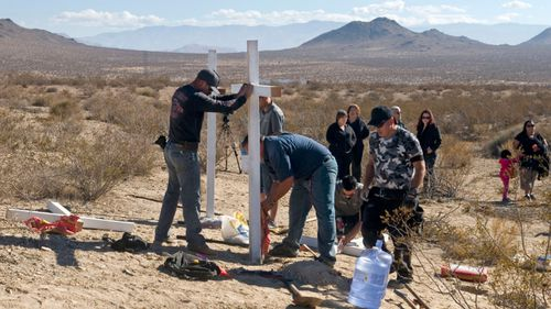 Merritt's mobile phone was traced to the McStay's remote gravesites.