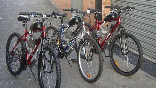Motorised bikes are still popular in Australia. (Facebook)