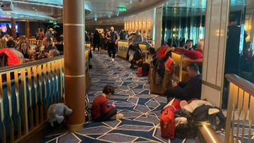 Thousands of passengers were held on the ship while a tourist was tested for coronavirus.