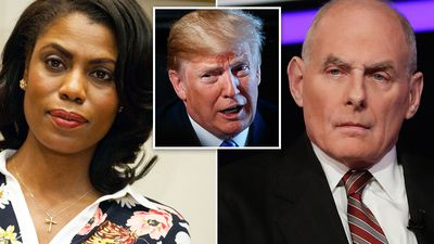 Former Trump aide releases secret tape of her firing