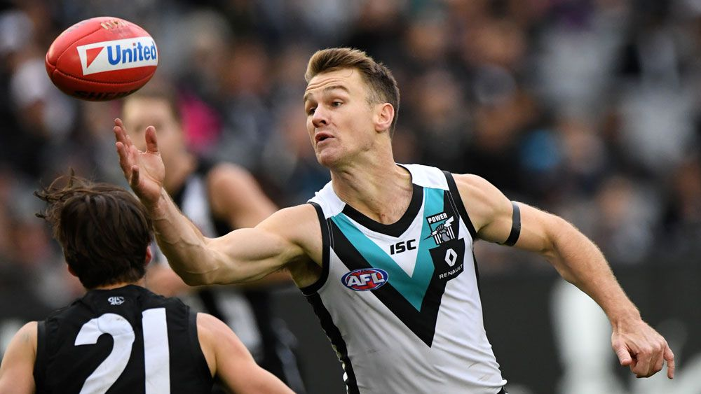 AFL shock as Port Adelaide star Robbie Gray diagnosed with testicular cancer