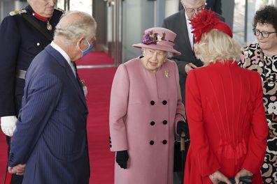 Queen Elizabeth, Prince Charles and Camilla
