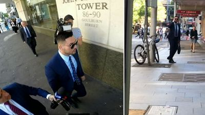 Salim Mehajer in court after hearings vacated following car crash