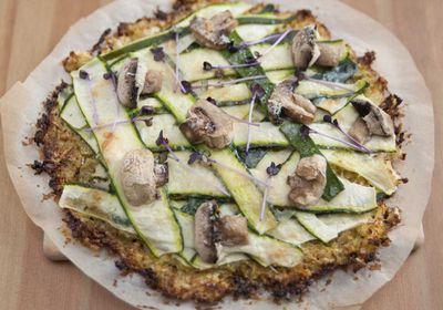 <p>Swap pizza dough for a cauliflower base</p>
