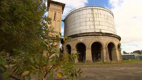 The Drummoyne water tower was built in 1913.