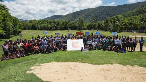 More than 400 traditional land owners converged at Palm Cove to discuss the new direction of the Cape York Land Council. (Cape York Partnership)