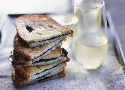 Toasted truffle sandwiches
