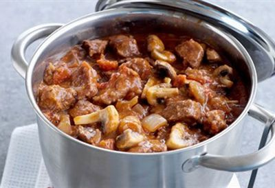Beef and onion casserole