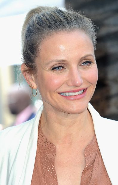 Cameron Diaz at Lucy Liu's Star Ceremony On The Hollywood Walk Of Fame held on May 1, 2019 in Hollywood, California.