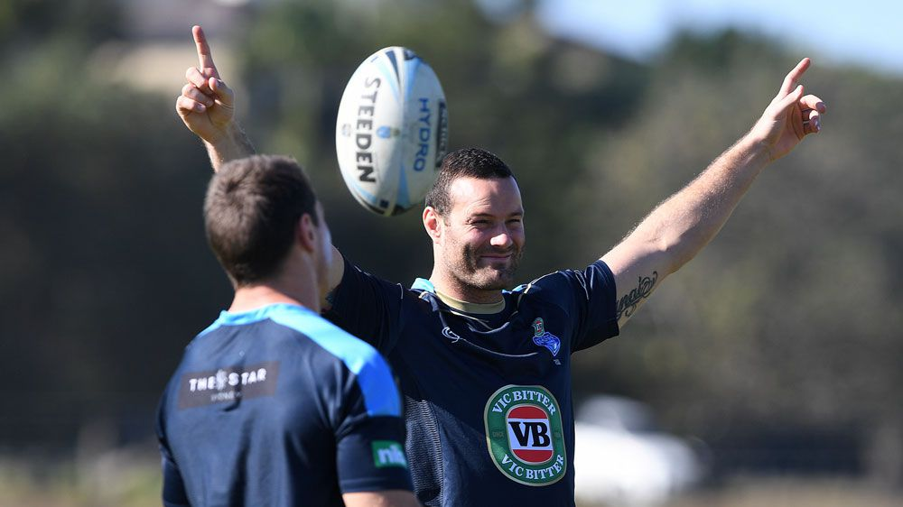 Cordner takes step towards Origin III