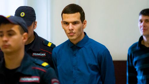 Russian man sentenced to almost 25 years in prison for raping and beheading student
