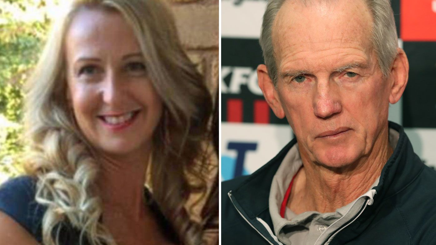 Brisbane Broncos coach Wayne Bennett's fiancée Dale Cage publicly quashes split speculation