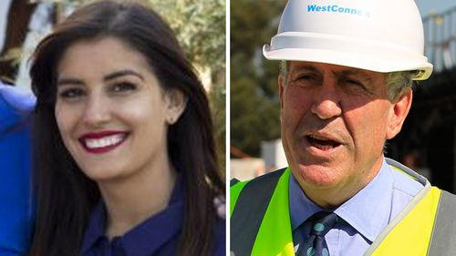 Eleni Petinos and Duncan Gay. (Supplied/AAP)