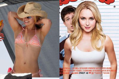 Hayden Panettiere got a serious Photoshop boost for the <i>I love you Beth Cooper</i> movie poster.