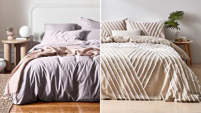 Quilt cover sets for a refresh in the bedroom