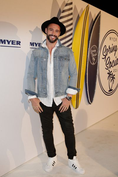 Kris Smith in Industrie at the Myer Spring Social 2017