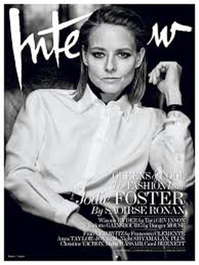 Jodie Foster, <em>Interview </em>Magazine March 2016