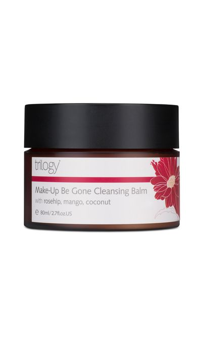 "<a href=""http://www.trilogyproducts.com/products/make-up-be-gone-cleansing-balm/"" target=""_blank"">Make-Up Be Gone Cleansing Balm, $36.90, Trilogy</a>"