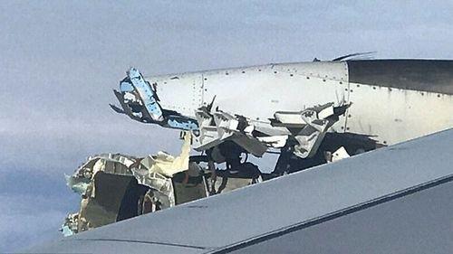 The engine was severely damaged. (Image: RickEngebretsen)