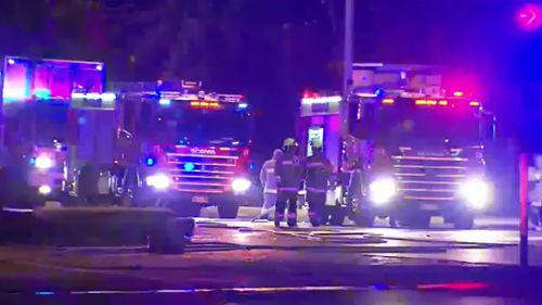 Emergency services on the scene. (9NEWS)