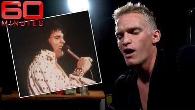 Cody Simpson's uncanny impression of Elvis Presley