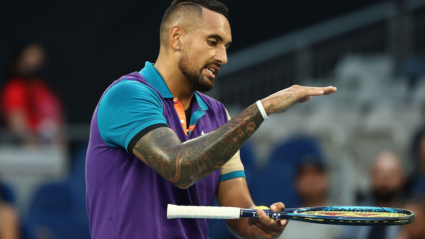 'It's ruining the game': Nick Kyrgios fumes after being denied multiple aces by technology confusion