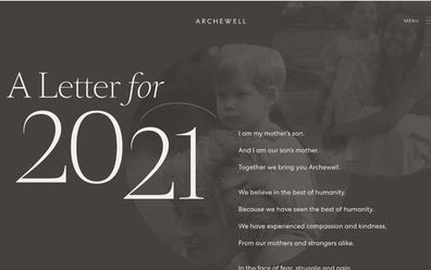 Prince Harry Meghan Markle launch Archewell website 2021