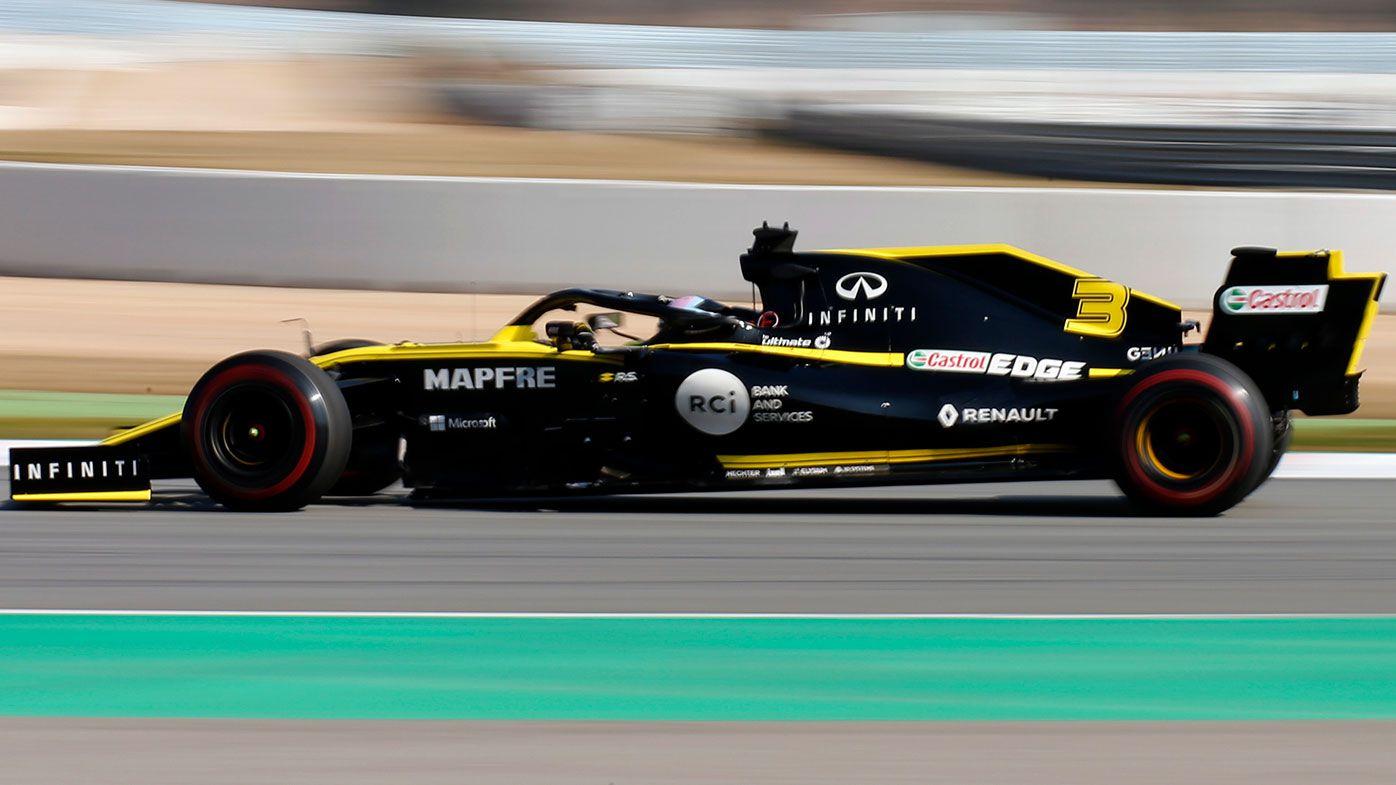 Renault F1 driver Daniel Ricciardo.