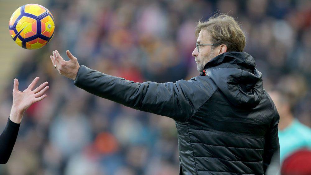 Liverpool manager Jurgen Klopp, (AAP)