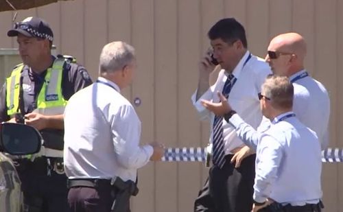 The Homicide Squad from both Victoria and New South Wales are investigating.