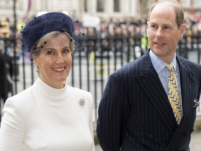 Sophie, Countess of Wessex and Prince Edward, Earl of Wessex.