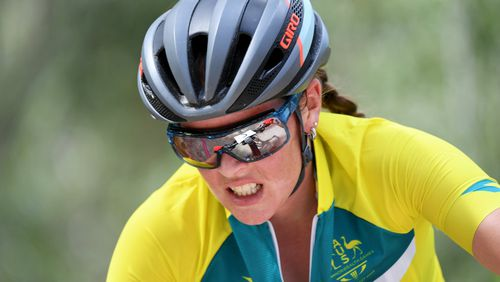 Rebecca McConnell's grit and determination won her over with spectators. (AAP)