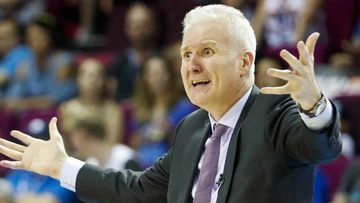 Sydney Kings coach Andrew Gaze